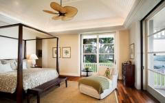 design chambre exotique hawai