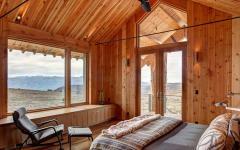 intérieur unique maison en bois