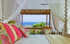 vue sur la mer belle chambre à coucher
