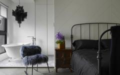 chambre minimaliste moderne appartement design