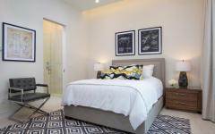 Chambre traditionnelle déco minimaliste