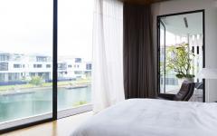 chambre minimaliste design maison contemporaine