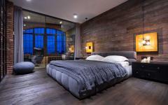 chambre à coucher déco masculine