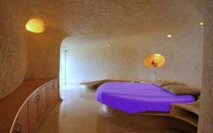chambre minimaliste résidence originale atypique nautilus