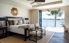 chambre avec vue design rustique traditionnel