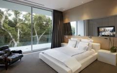 chambre à coucher d'amis résidence de luxe montecito
