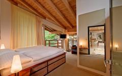 chambre en bois chalet de montagne à louer