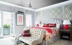 chambre parentale design luxe glamour