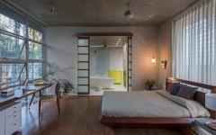 chambre des parents maison citadine moderne