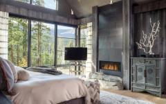 chambre suite chalet rustique de montagne vacances