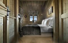 chalet de luxe intérieur rustique
