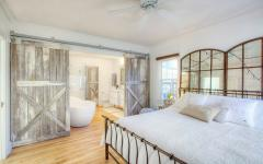 chambre moderne sympa design rustique