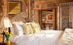 chambre intérieur rustique maison de charme