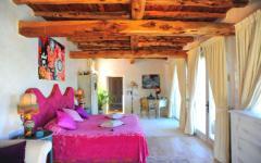 suite design rustique villa de vacances ibiza