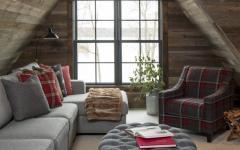 grenier aménagé décoration rustique maison de vacances