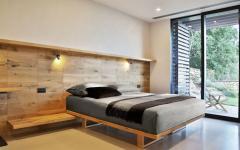aménagement mobilier simple en bois massif