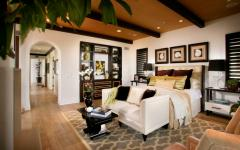 chambre luxe design rustique