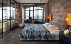 grand lit chambre homme célibataire