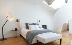 chambre design intérieur épuré minimaliste