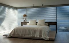 volets chambre transparente vue sur la mer