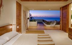 chambre avec vue mer villa de vacances