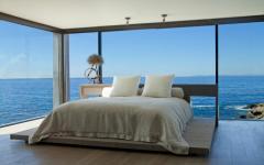chambre vue panoramique sur la mer