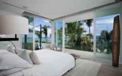 suite chambre à coucher principale vue sur mer