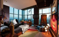 chambre décoration riche design