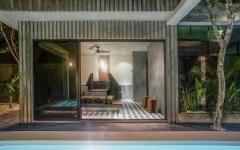 salle de bains piscine terrasse extérieures