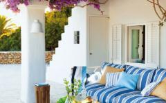 terrasse outdoor couverte maison de vacances