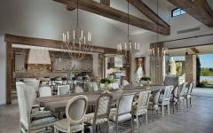espace mobilier rustique luxe résidence secondaire