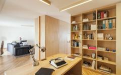 coin bureau ouvert mobilier bois