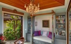 intérieur villa exotique de luxe