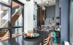 salle à manger bel appartement de ville luxe