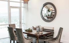 salle à manger appartement moderne mobilier