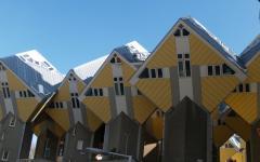 maison de ville maison d'architecte rotterdam cube houses