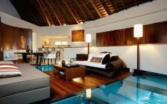 séjour villa de luxe vacances Maldives