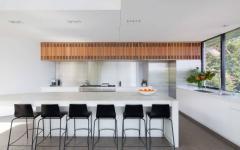 cuisine ouverte aménagement simple minimaliste