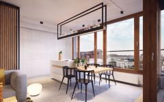 cuisine dissimulée appartement de ville