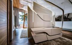 intérieur original et conceptuel villa de luxe