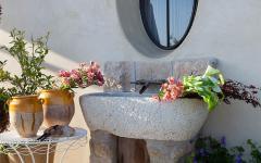espace extérieur sympa de la villa de luxe californienne