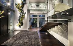 intérieur luxe maison citadine d'architecte