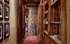 intérieur rustique montagne bois