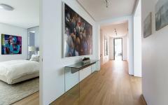 spacieux couloirs résidence de vacances