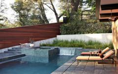 piscine maison de luxe