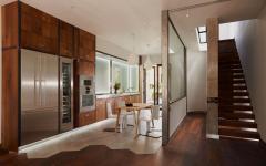 cuisine aménagée design pavillon résidentiel