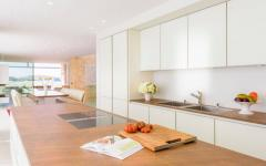 cuisine américaine aménagée villa de location luxe ibiza