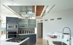 cuisine équipée design déco villa de vacances maison secondaire