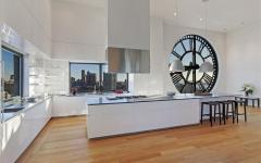 cuisine design luxe blanc et équipée