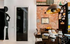 touches retro industriel intérieur appartement moderne